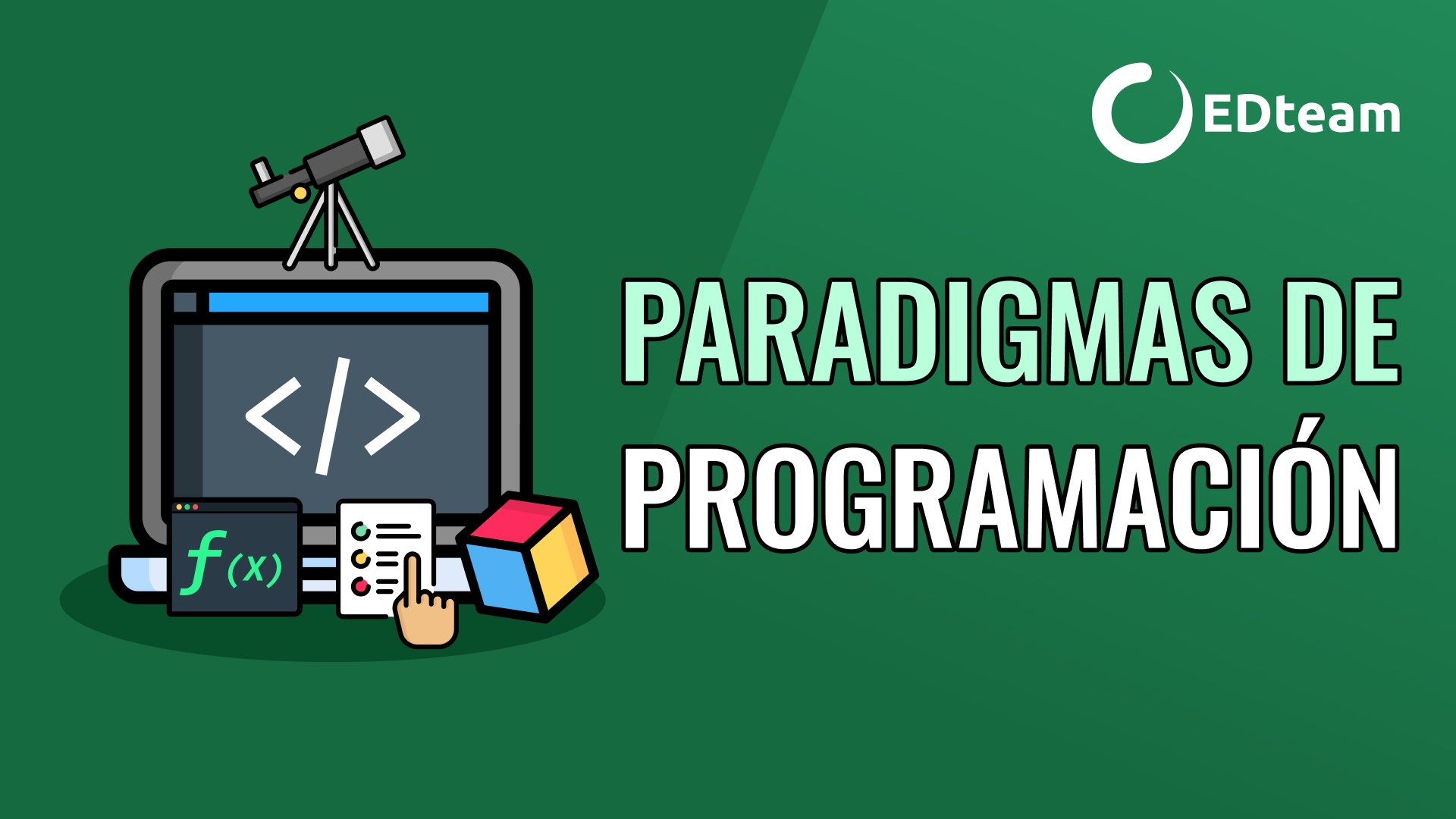 ¿Qué son los paradigmas de programación?
