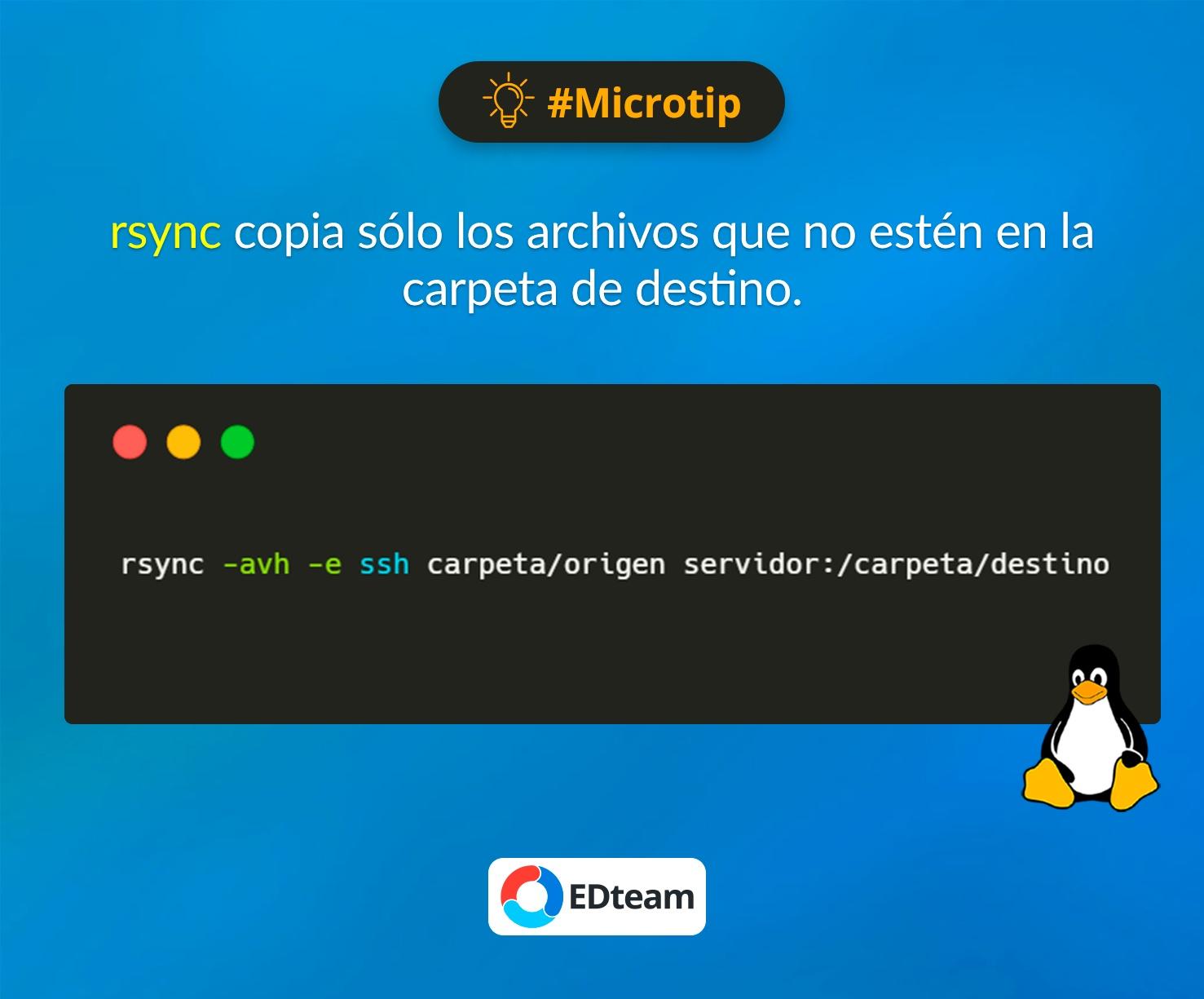 #Microtip: Copiar sólo archivos nuevos al servidor