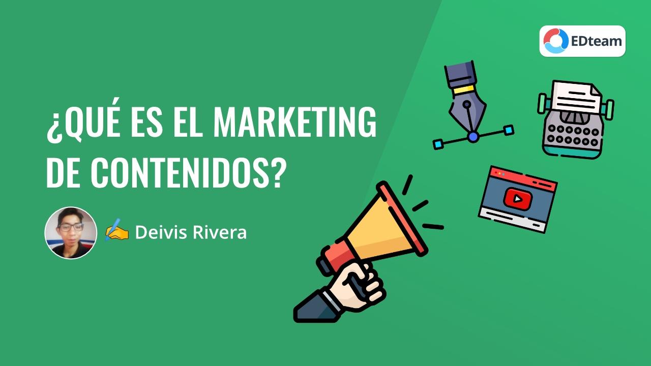 ¿Qué es el marketing de contenidos y por qué deberías empezar a hacerlo?