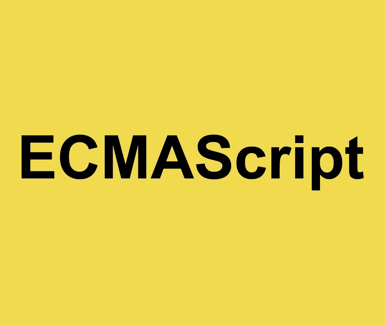 ECMAScript el estándar de JavaScript