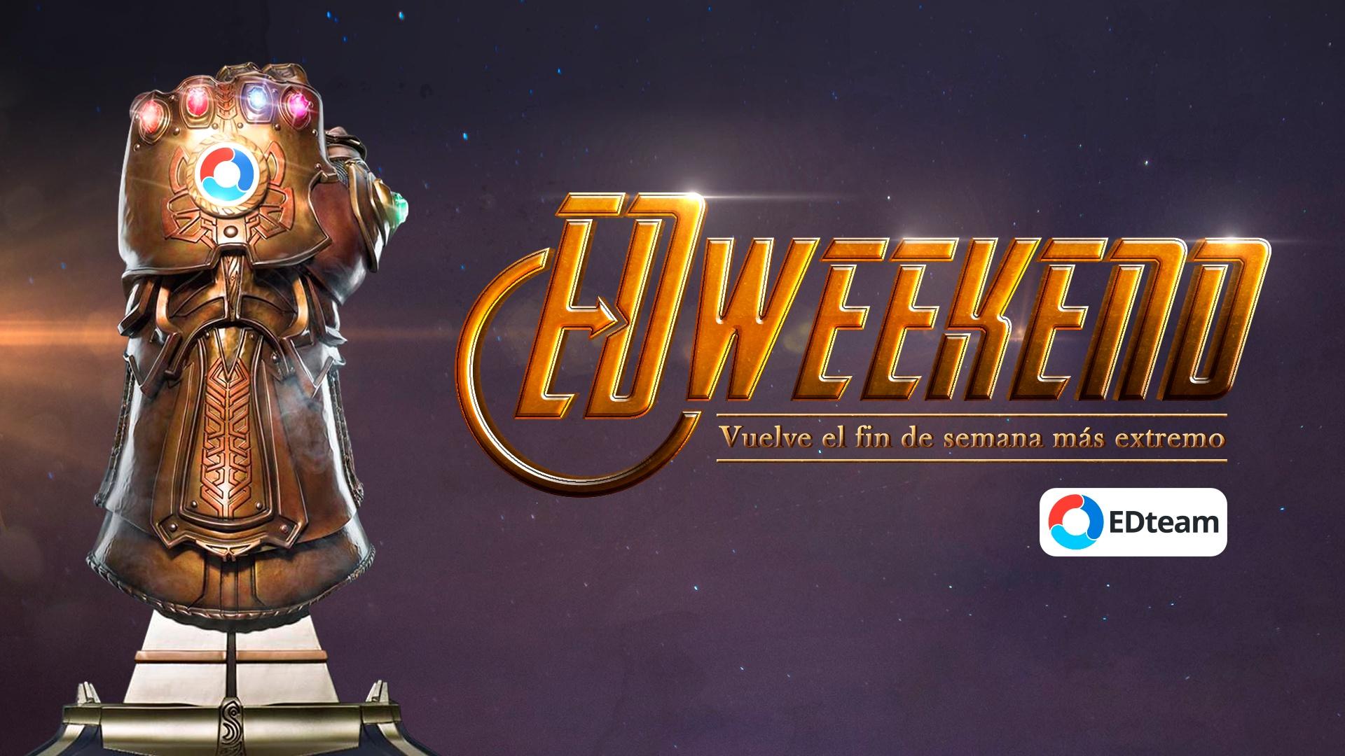 ¡Un año gratis en EDteam con el EDweekend!