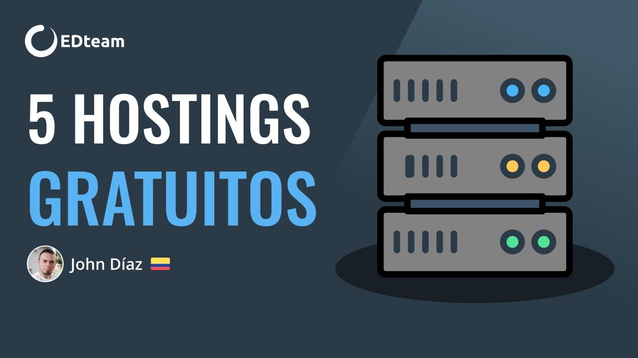 5 Hostings gratuitos para tu web