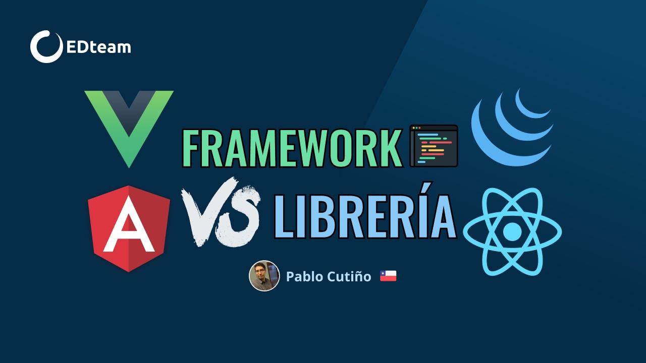 🥊 Framework vs Librería