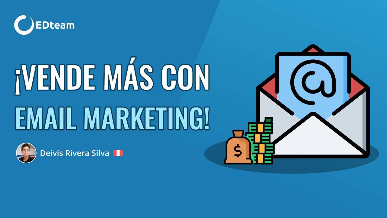 ¡Vende más con email marketing!