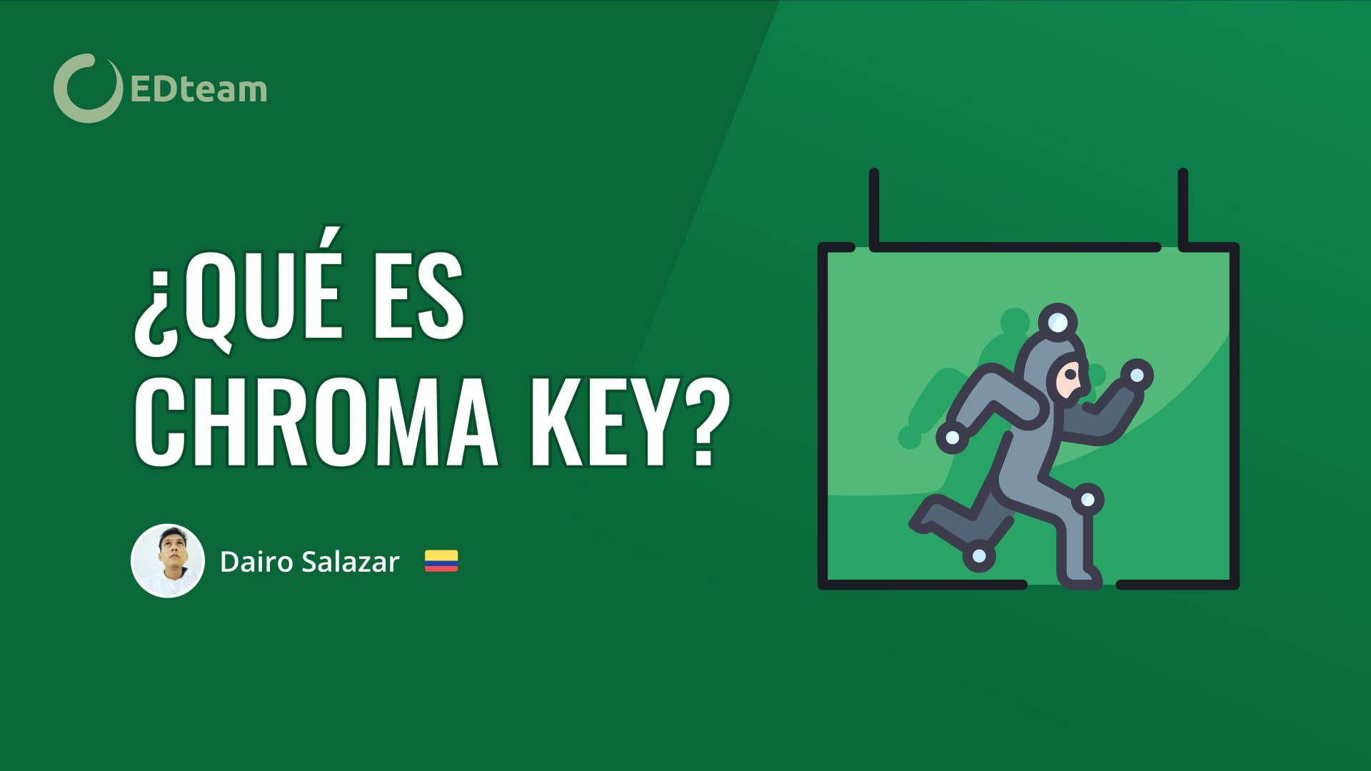 ¿Qué es y cómo se usa el Chroma key?