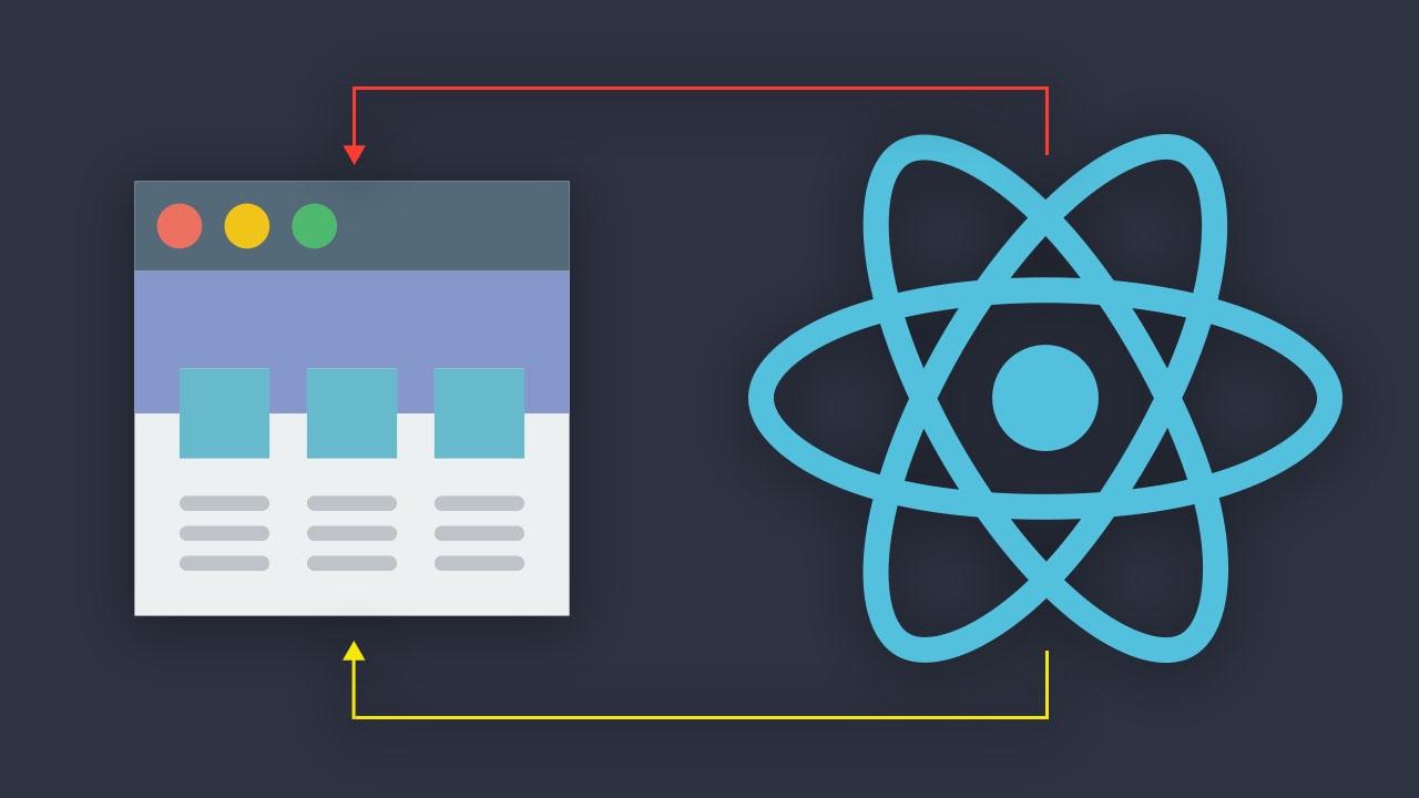 Renderiza componentes de React en distintos elementos del DOM