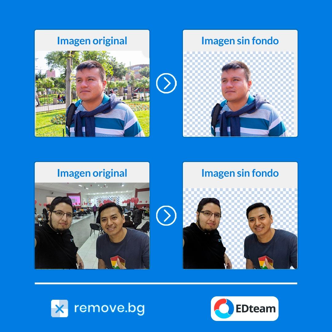 Elimina el fondo de tus fotos sin photoshop.