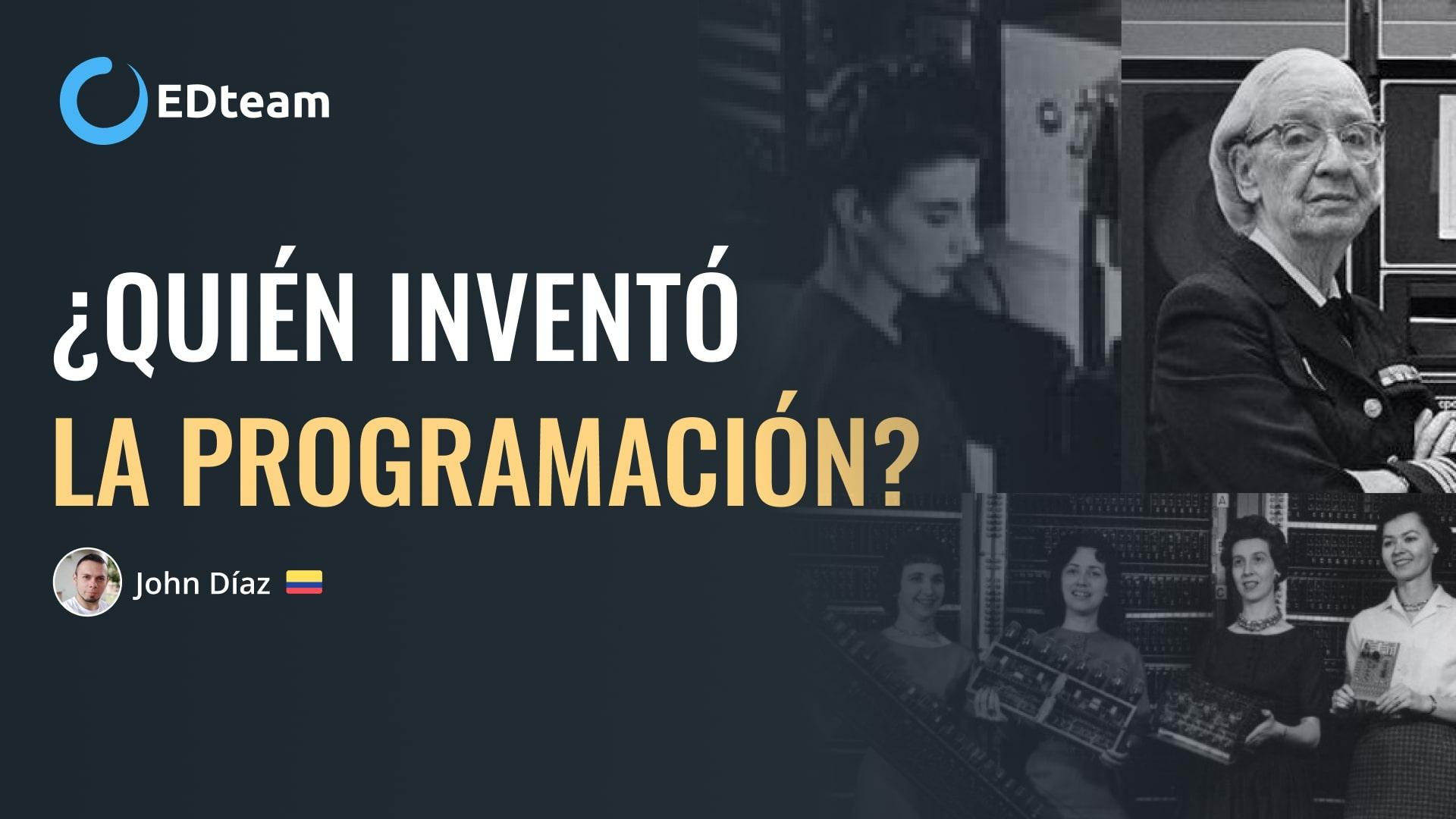 ¿Quién inventó la programación?