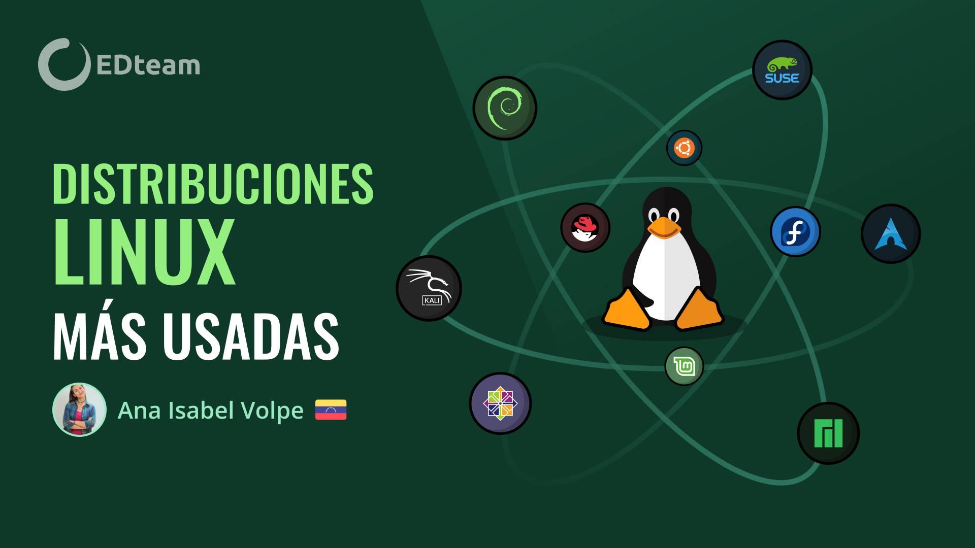 10 distribuciones Linux más usadas