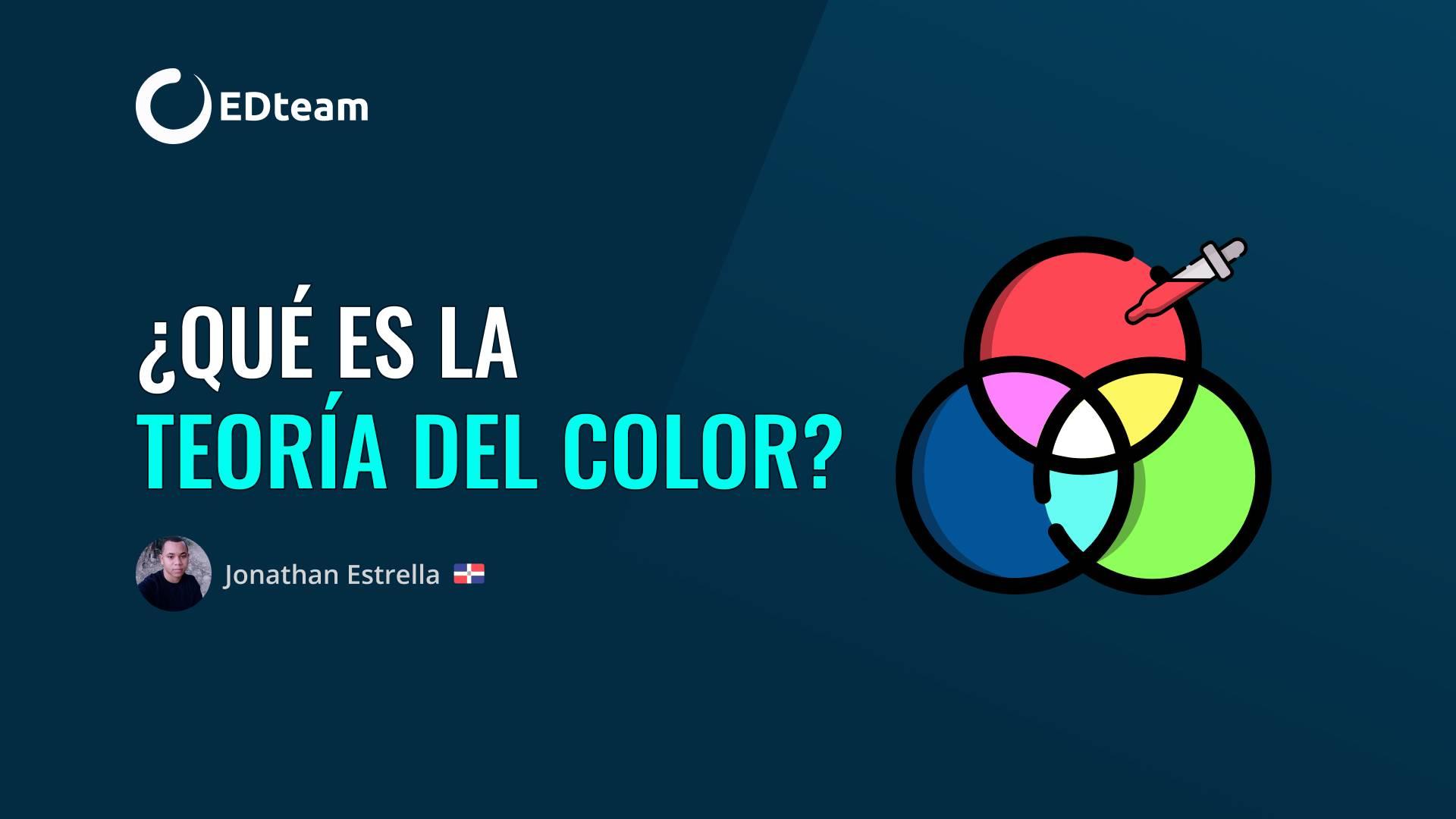 ¿Qué es la teoría del color?