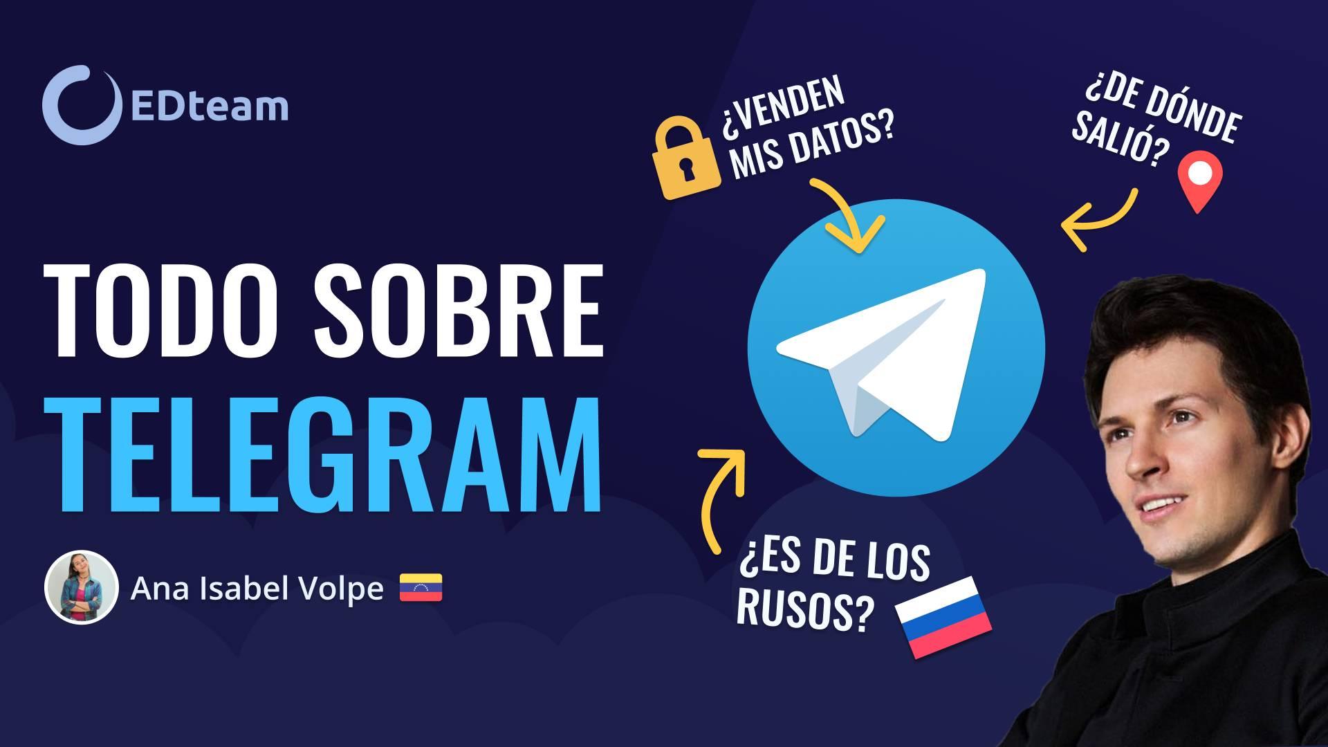 Todo sobre Telegram