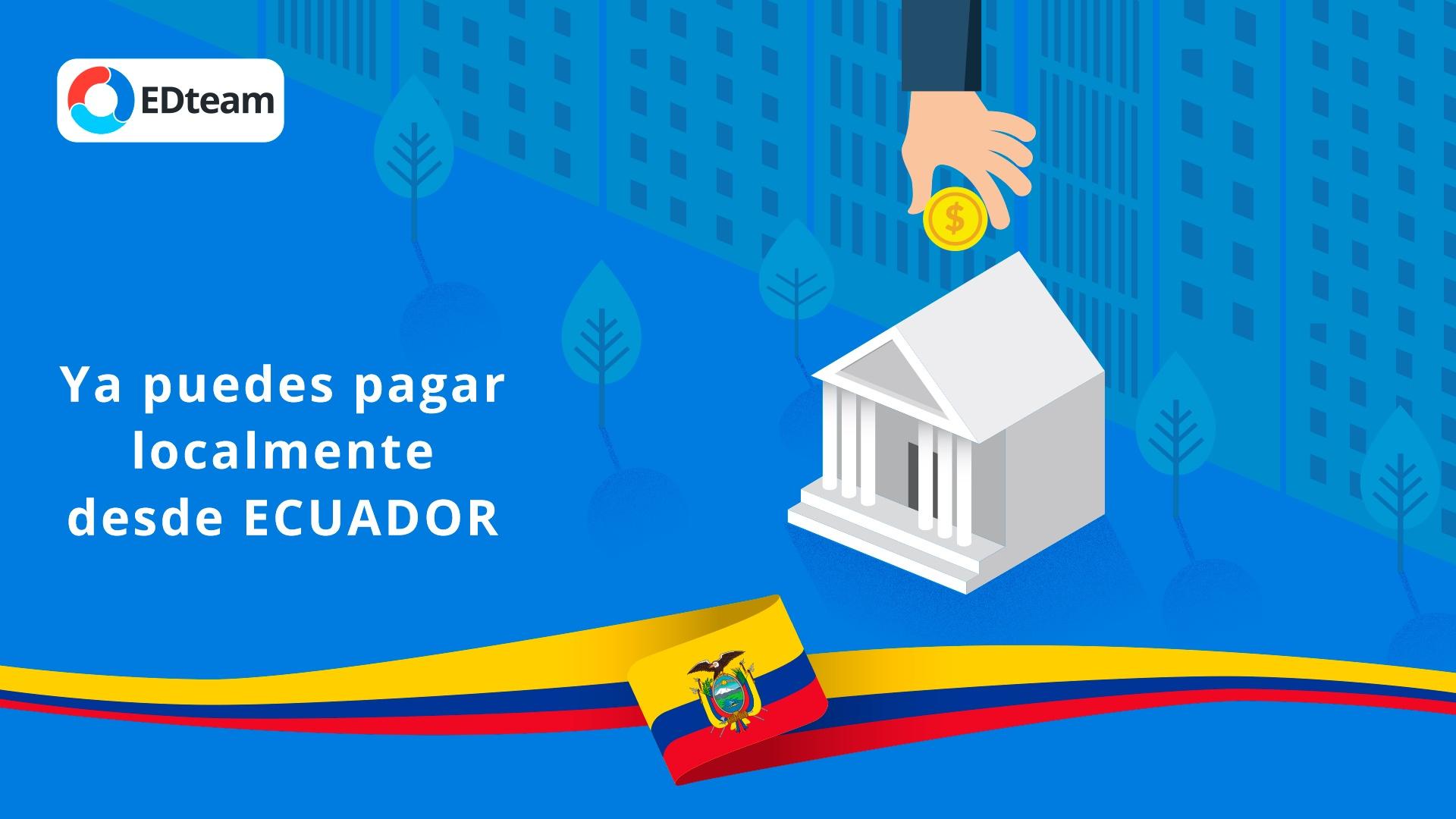 Bienvenido Ecuador y resto del mundo a EDteam
