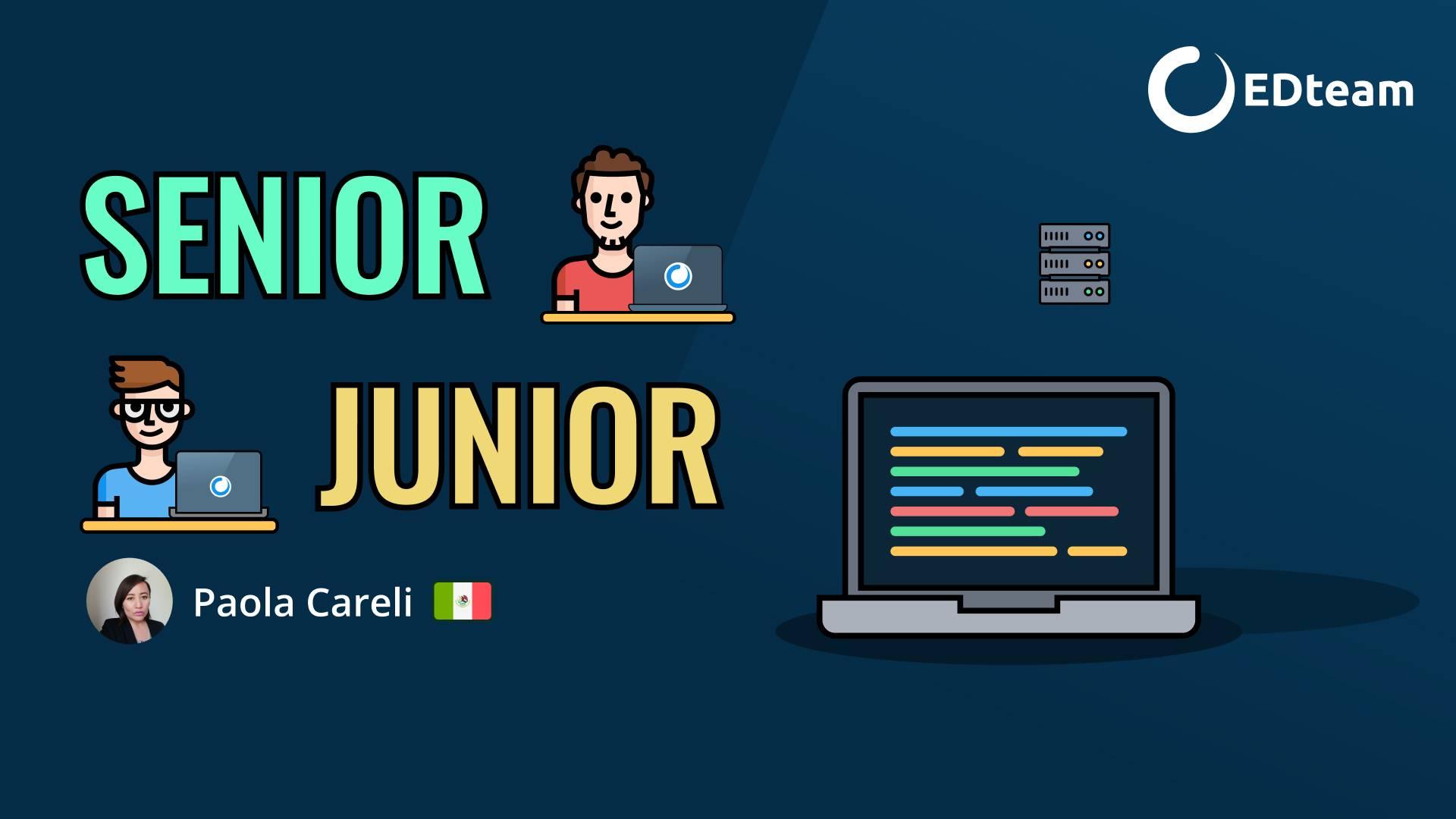 💻 ¡Senior vs Junior! (Niveles de programadores)