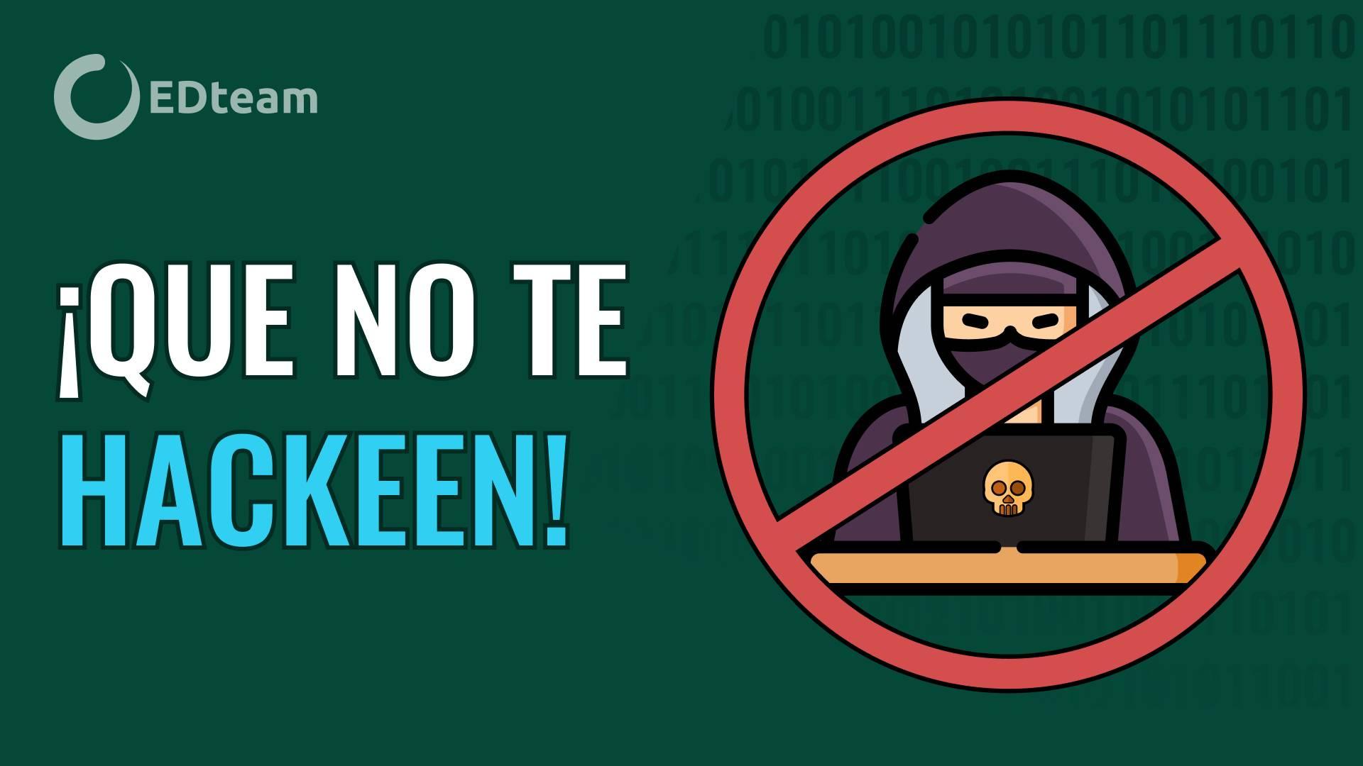 ¡La seguridad informática es para todos!