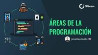 ¿Cuáles son las áreas de la programación?