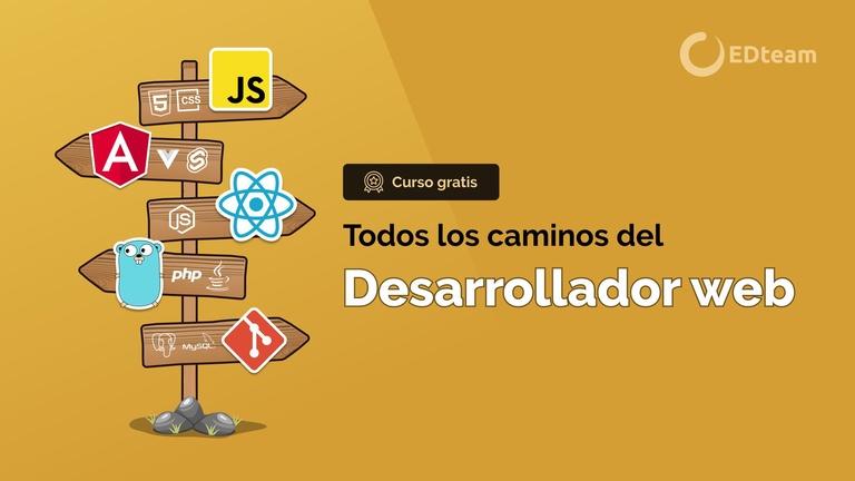 La ruta del desarrollador web