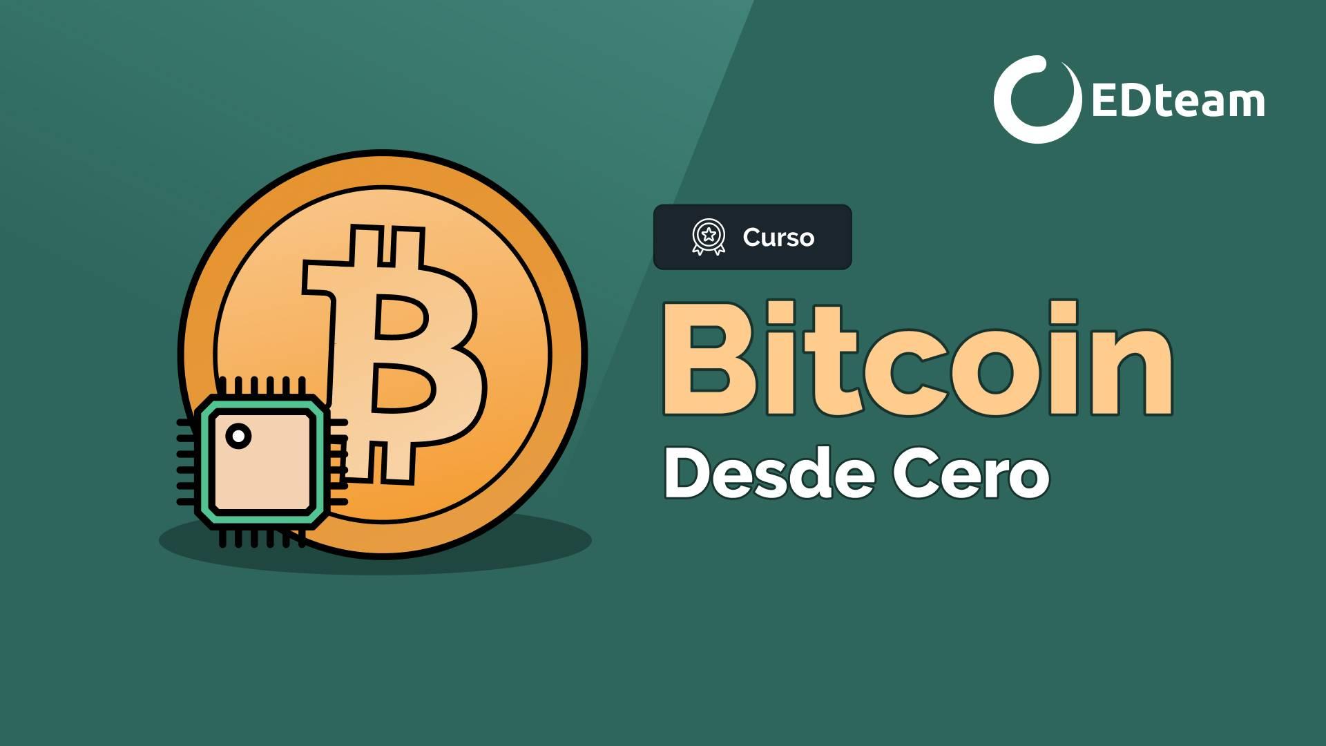 Bitcoin desde cero