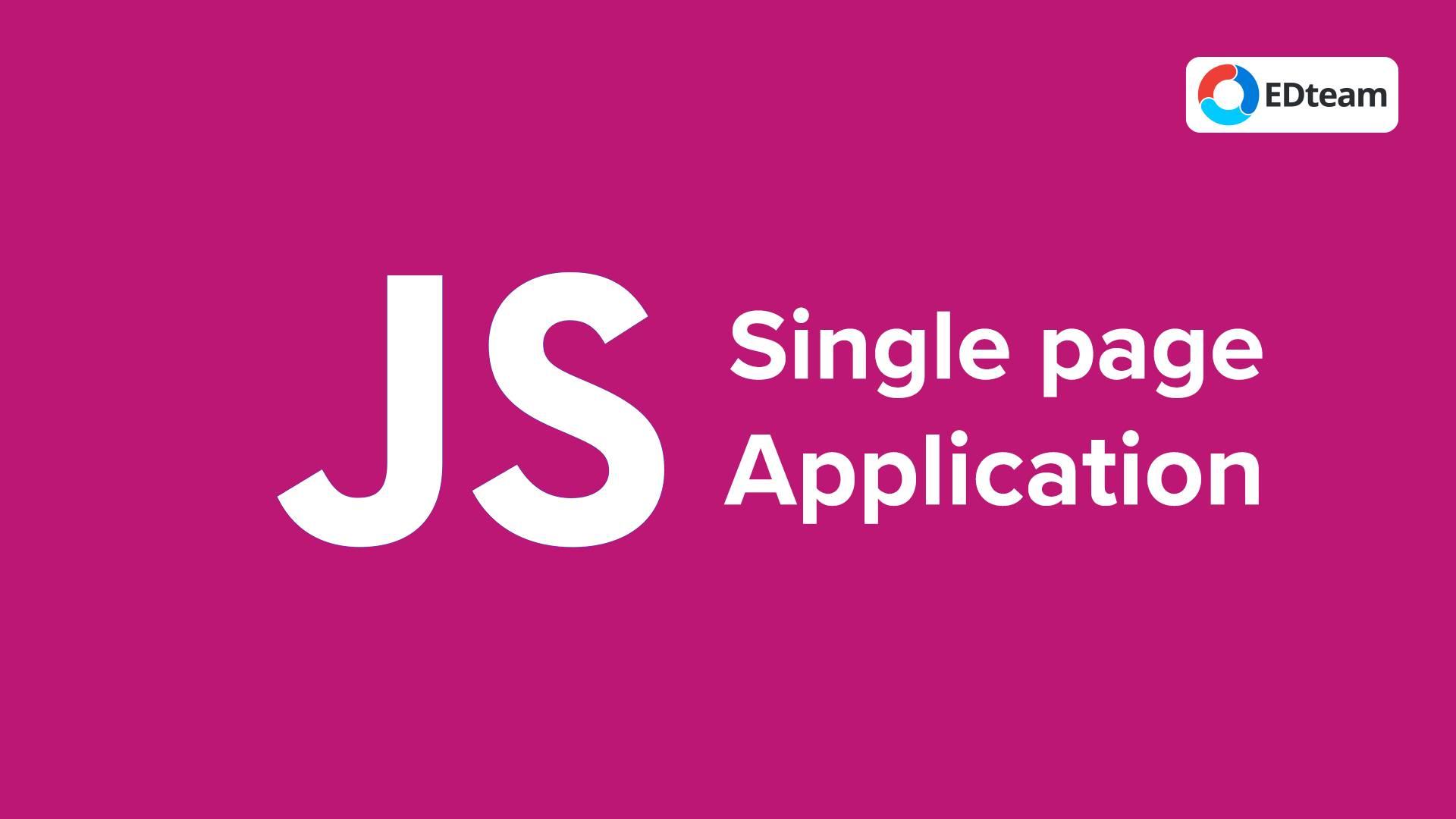 Single Page Aplication con JavaScript