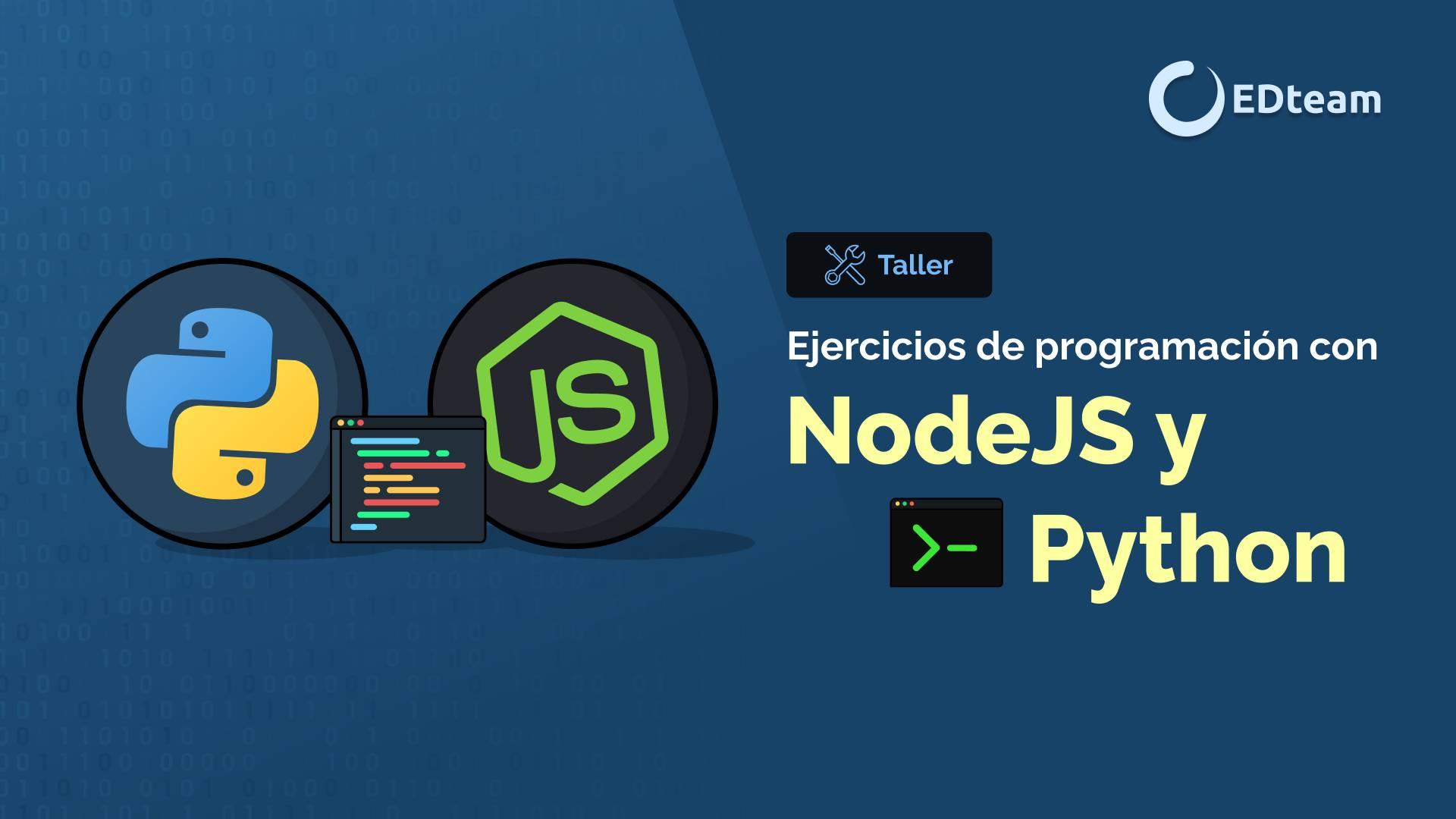 Ejercicios de programación con Python y Node JS