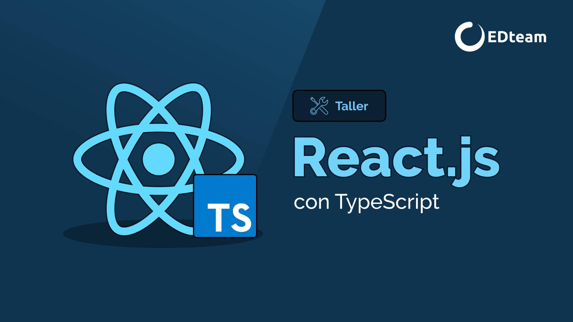 React.js con TypeScript