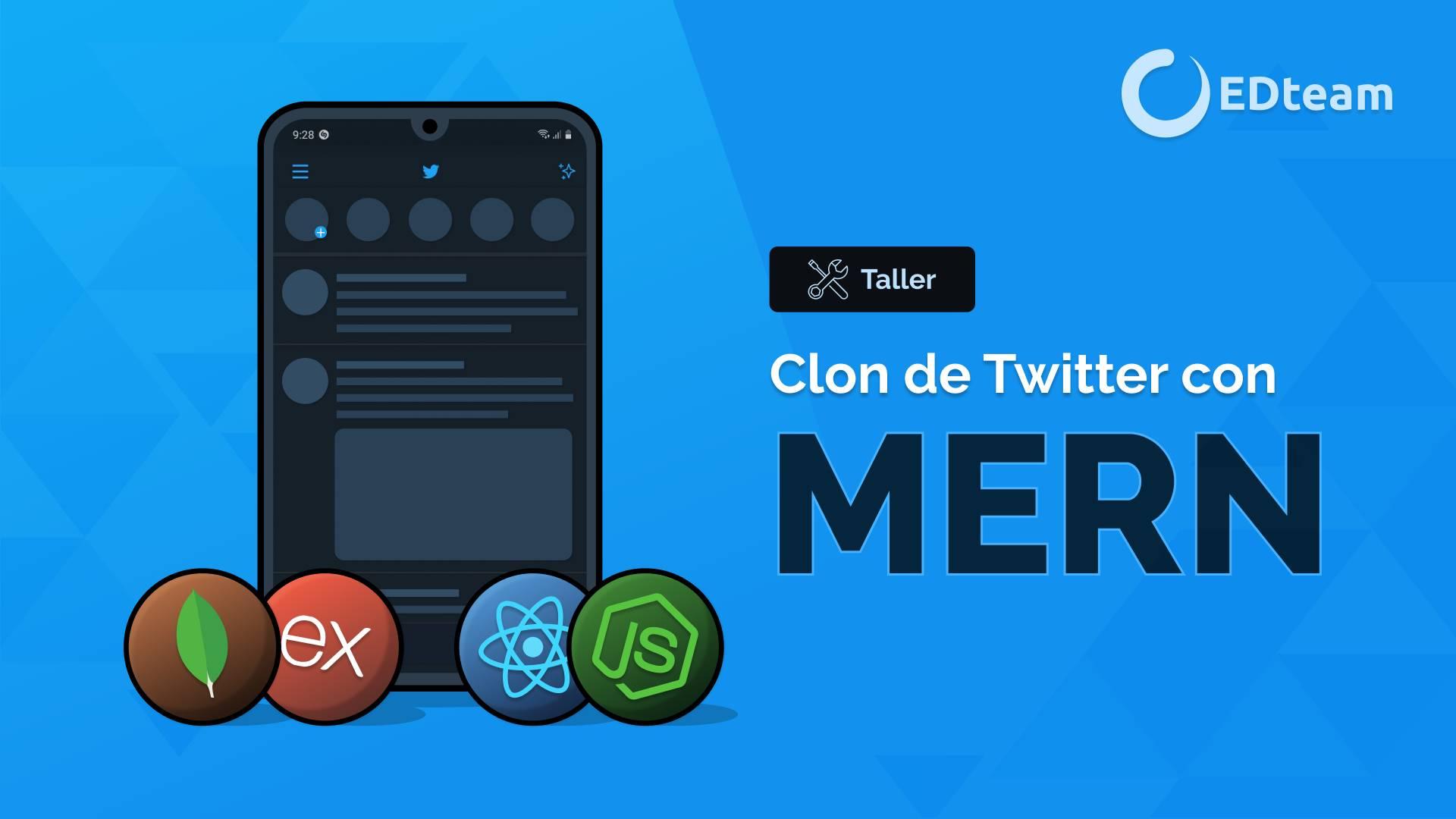 Clon de Twitter con MERN