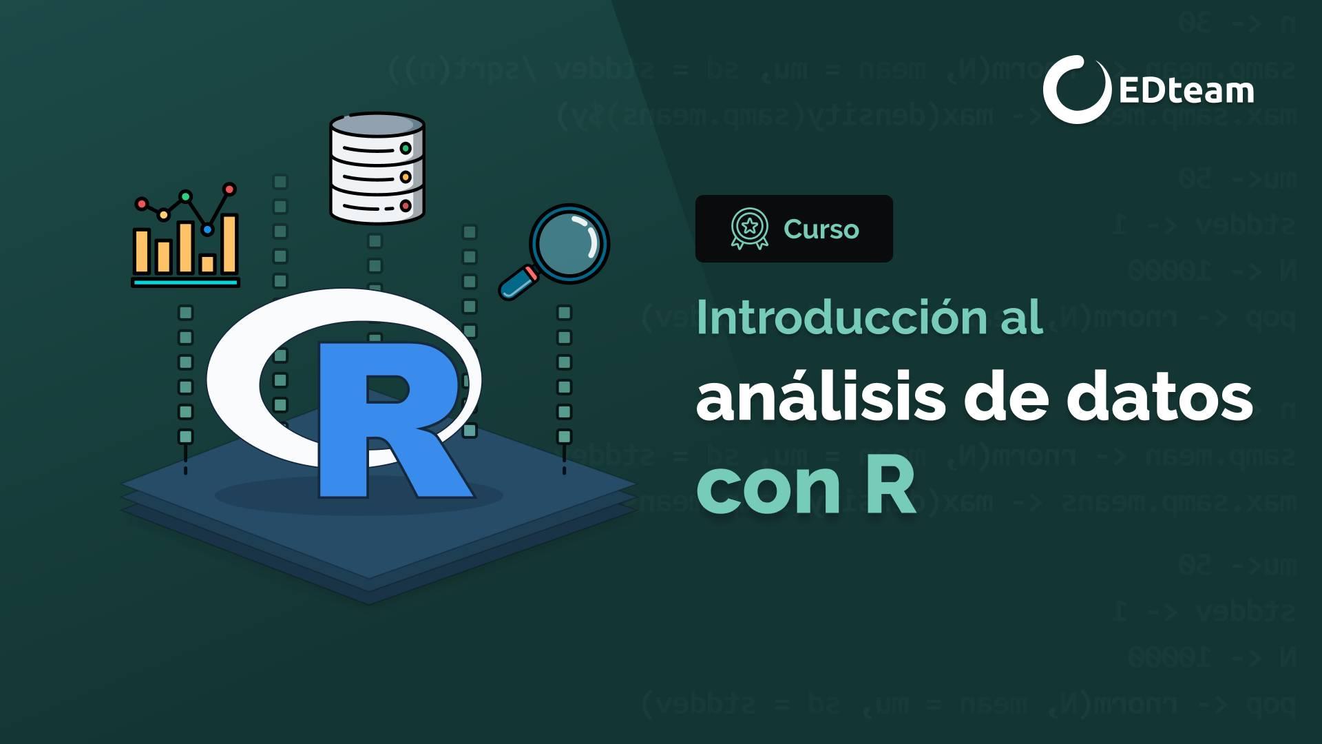 Introducción al análisis de datos con R