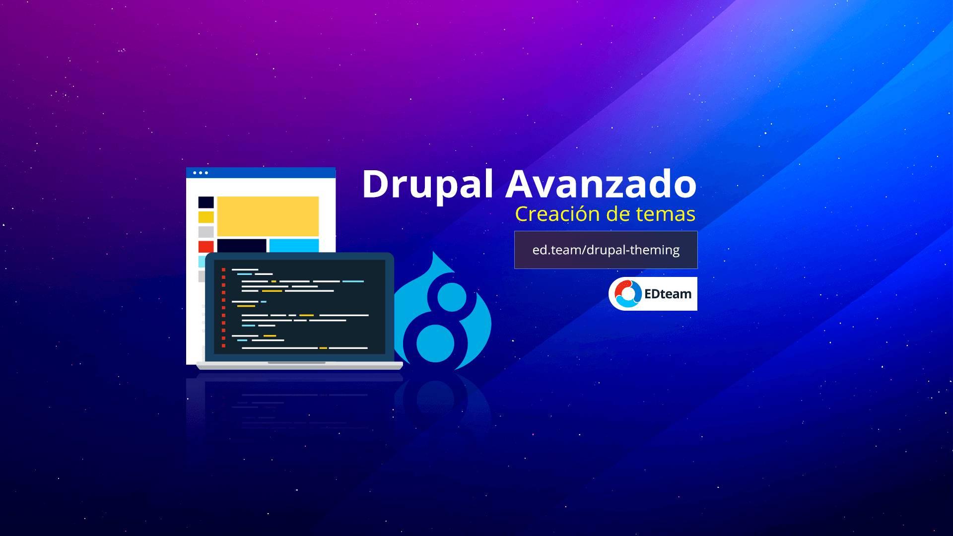 Creación de temas con Drupal 8