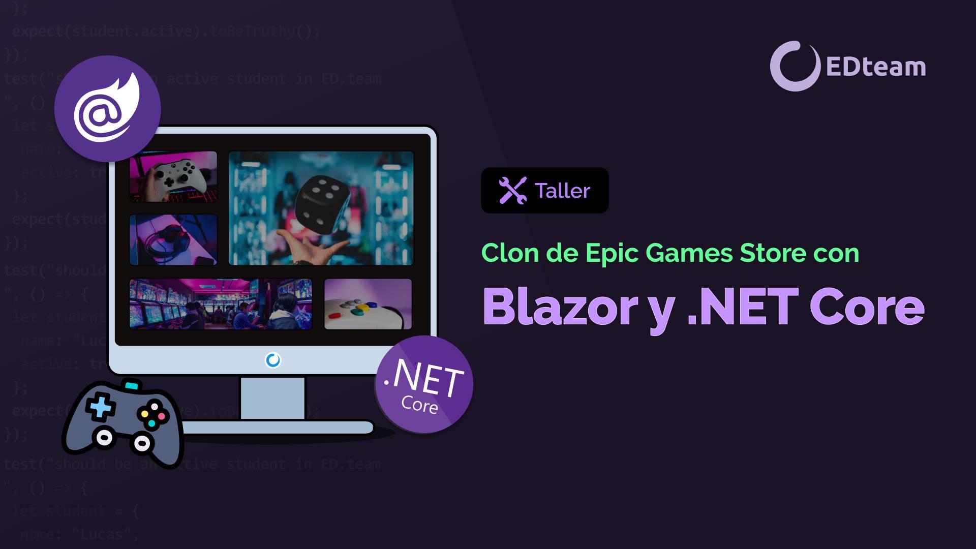 Clon de Epic Games Store con Blazor y Web Assembly