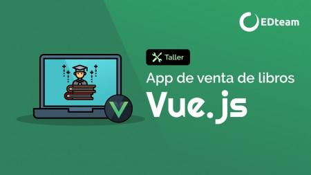 Desarrollo de tienda de libros con Vue.js
