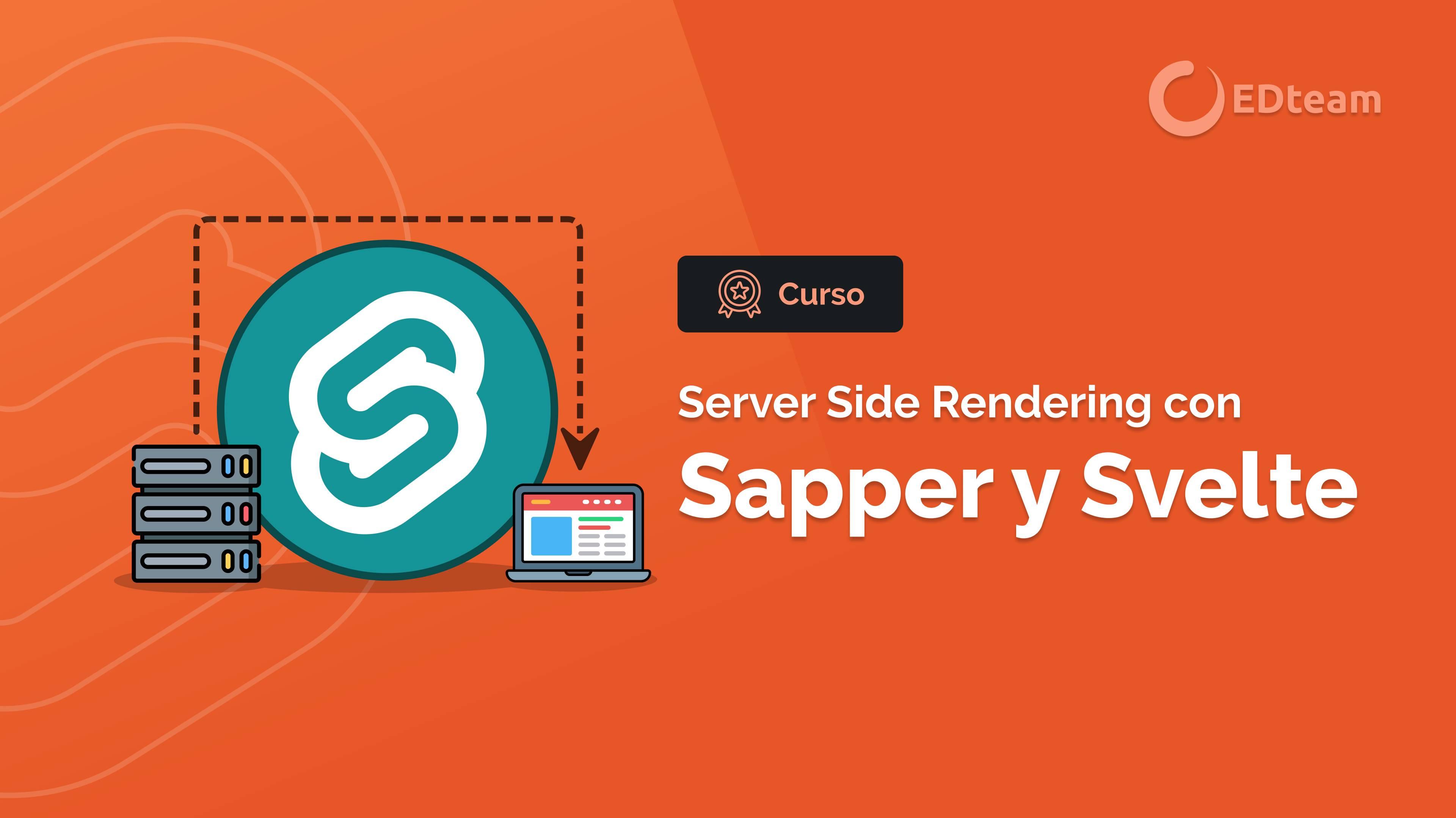 Sapper - SSR con Svelte