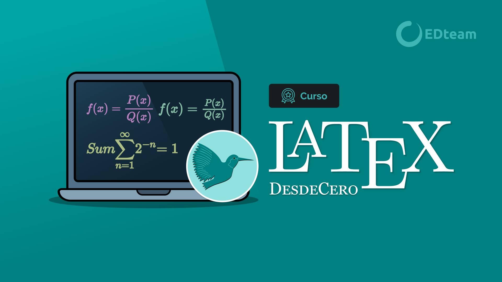 1.2. Descarga e instalación de Latex.