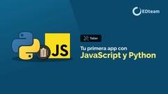 Tu primera app con JavaScript y Python