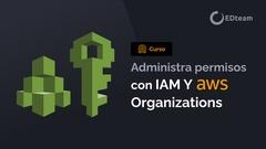 Roles y permisos en AWS con IAM y Organizations