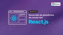Plataforma de educación online con React.js