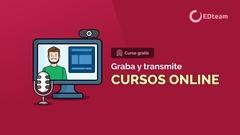 Graba y transmite cursos online