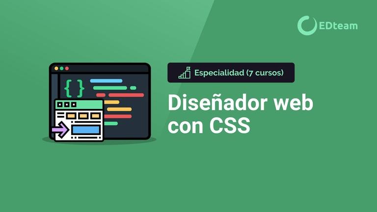 Especialidad: diseñador web con CSS